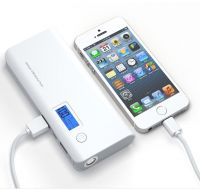 50000mAh Power Bank LCD LED Dual USB External Battery Charger For iPhone X 8