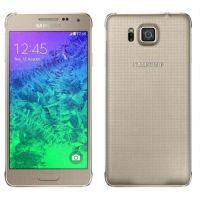 Ricondizionato Samsung Galaxy Alpha G850F Oro 32GB Sbloccato Ottime Condizioni