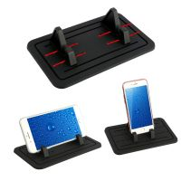 Ricondizionato Grip Silicone Pad Car Dashboard Mount Holder Cradle For Cell Phone Universal