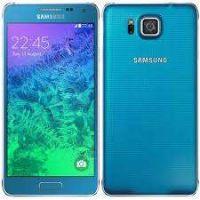 Ricondizionato Samsung Galaxy Alpha G850F Blu 32GB Sbloccato Ottime Condizioni